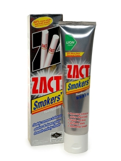 "Зубная паста ""Lion"" Smokers Toothpaste/100g ZACT"