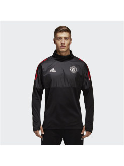 Куртка MUFC EU HYB TOP BLACK/RED Adidas
