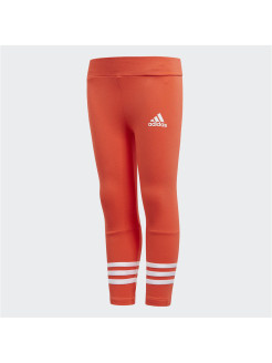 Тайтсы LG COMF TIGHT BRIRED/WHITE adidas