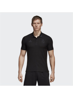 Футболка-поло REAL SSP POLO BLACK Adidas