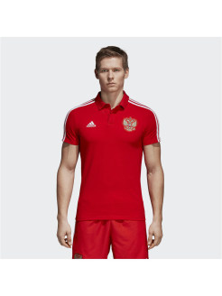 Футболка-поло RFU CO POLO RED/WHITE Adidas