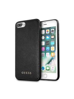 Guess для iPhone 7+/8+ Iridescent Hard PU Black GUESS