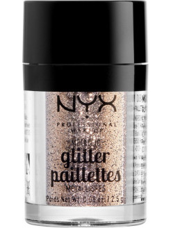 Металлический глиттер. METALLIC GLITTERS - GOLDSTONE 04 NYX PROFESSIONAL MAKEUP