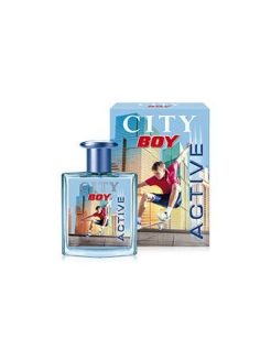 City boy active ТВ 50 мл Сити Бой Актив CITY PARFUM