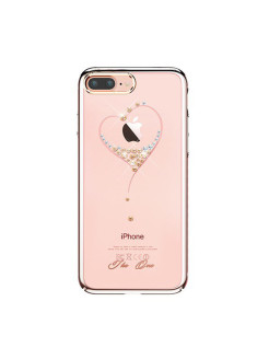 Чехол с Swarovski Kingxbar Starry Sky Rose для iPhone 8 Plus / 7 Plus Heart Kingxbar