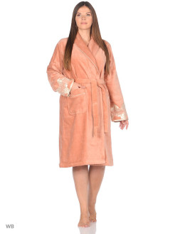 Dressing gown female Verda Ecocotton