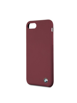 Чехол BMW для iPhone 7/8 Signature Liquid silicone Hard Red BMW