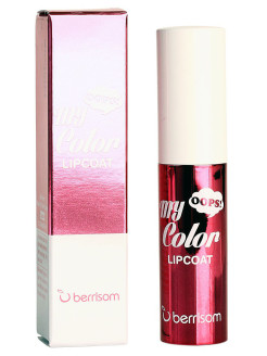 Тинт для губ Oops My Color Lip Coat Enamel - 02 Wicked Pink Berrisom