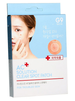 Патчи акне AC solution ACNE clear spot patch Berrisom