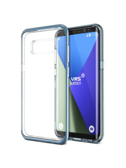 Чехол VRS Design Crystal Bumper для Samsung Galaxy S8 Blue Coral VRS Design