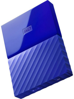 "Жесткий диск Original USB 3.0 1Tb WDBBEX0010BBL-EEUE My Passport 2.5"" синий WD"