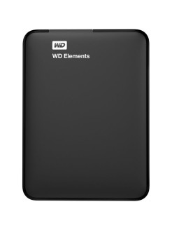"Жесткий диск Original USB 3.0 500Gb WDBUZG5000ABK-WESN Elements Portable 2.5"" черный WD"
