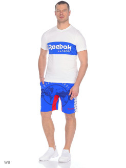 Шорты F GR FT SHORT VITBLU Reebok