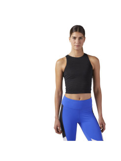 Майка MESH CROP BLACK Reebok
