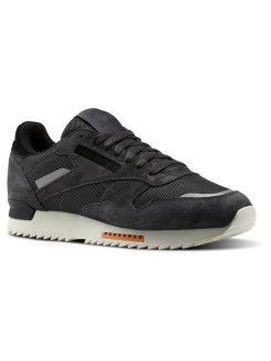 Кроссовки CL LEATHER RIPPLE S COAL/POWDER GRY/CLSS Reebok