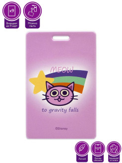Cardholder Case for Disney Gravity Falls Cat Card Disney