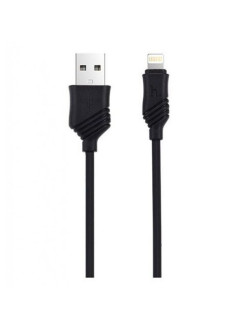 Кабель USB-iP Hoco Khaki Black 1m Hoco