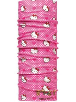 Бандана BUFF HELLO KITTY ORIGINAL CHILD MOUNTAIN LIGHT PINK Buff