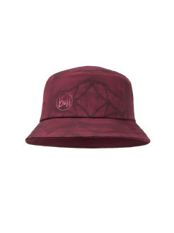 Кепка BUFF TREK BUCKET HAT CALYX DARK RED Buff