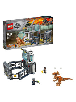 Побег стигимолоха из лаборатории Jurassic World 75927 LEGO