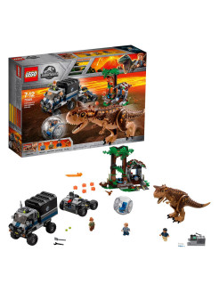 Конструктор LEGO Jurassic World 75929 Конструктор Побег в гиросфере от карнотавра LEGO