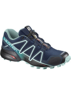 Кроссовки SHOES SPEEDCROSS 4 W Poseidon/Eggshell B SALOMON