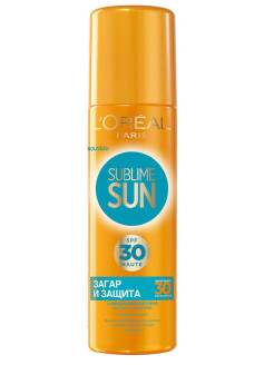 Спрей L'Oreal Paris Sublime Sun Загар и защита, SPF30, 200 мл L'Oreal Paris