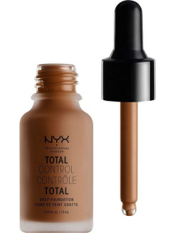 "Тональная основа ""Total Control Drop Foundation"", Оттенок 07, Natural NYX PROFESSIONAL MAKEUP"