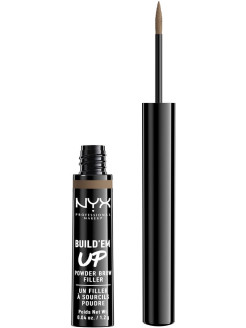 Сухая подводка-тени для бровей. BUILD 'EM UP BROW POWDER - BRUNETTE 05 NYX PROFESSIONAL MAKEUP