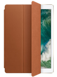 "Кожаный чехол-обложка Apple Leather Smart Cover Saddle Brown для iPad Pro 12.9"" (MPV12ZM/A) Apple"