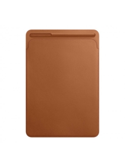 Кожаный чехол-обложка Apple Leather Sleeve Saddle Brown для iPad Pro 12.9 (MQ0Q2ZM/A) Apple