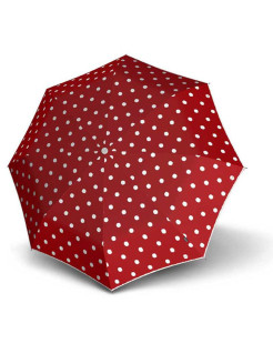 Зонт Knirps женский полный автомат T.100 Small Duomatic dot art red 9531004903 KNIRPS