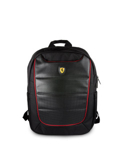Рюкзак Scuderia Backpack Nylon/PU Black FERRARI