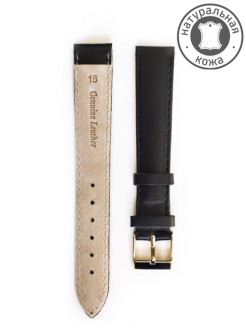 Calf leather watch strap. Width 18 mm. D&A.