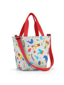 Сумка детская Shopper XS circus red Reisenthel
