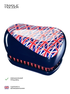 Расческа Tangle Teezer Compact Styler Cool Britannia Tangle Teezer