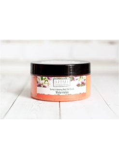 Солевой скраб для тела Watermelon, 320г AROMA HOME & SPA THERAPY
