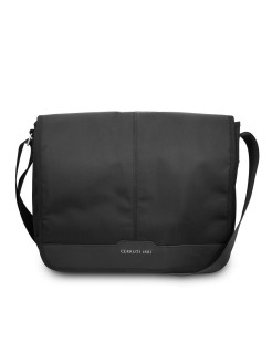 "Сумка для ноутбуков 13"" Messenger Bag Nylon/Leather Blk CERRUTI 1881"