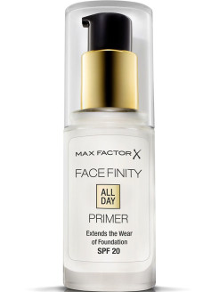 Праймер Для Лица Facefinity All Day Primer Тон прозрачный MAX FACTOR