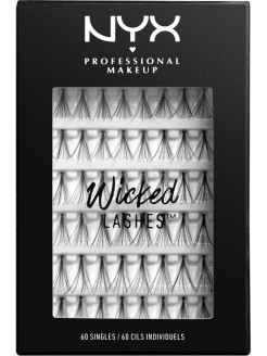 Набор накладных ресниц. WICKED LASHES SINGLES NYX PROFESSIONAL MAKEUP