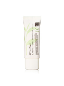 Натуральный BB крем с зеленым чаем Eco Natural Green Tea BB Cream SPF25 Innisfree