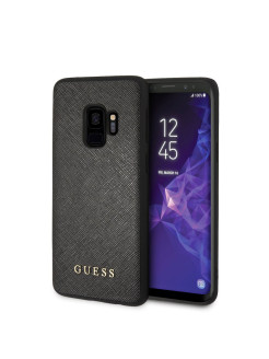 Чехол для Samsung Galaxy S9 Iridescent Hard PU Black GUESS
