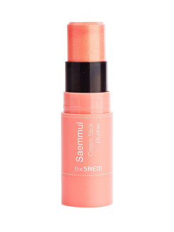 Румяна кремовые Saemmul Cream Stick Blusher PK01 Pink Flame the SAEM