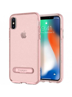 Защитный чехол Spigen для iPhone X Crystal Hybrid Glitter Spigen