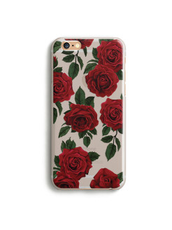 "Чехол ""Flower Power"" (Red Queen) для iPhone 6/6S Ipapai"