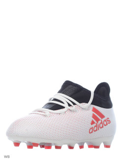 Бутсы X 17.1 FG J         GREY/REACOR/CBLACK Adidas