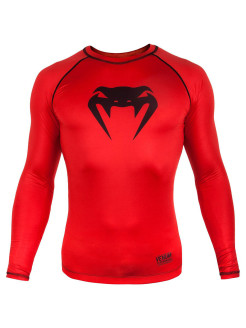 Рашгард Contender 3.0 Red/Black L/S Venum