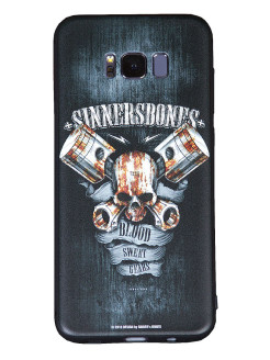 "Чехол для смартфонов SAMSUNG S8 ""Blood, Sweat, Gears"" SINNER's BONES"