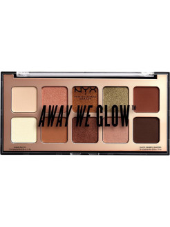Тени для век AWAY WE GLOW SHADOW PALETTE NYX PROFESSIONAL MAKEUP