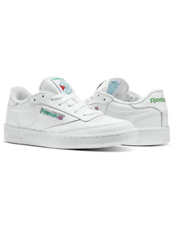 Кроссовки CLUB C 85 WHITE/GREEN Reebok